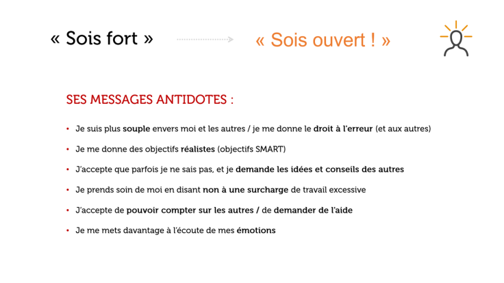 antidote sois fort